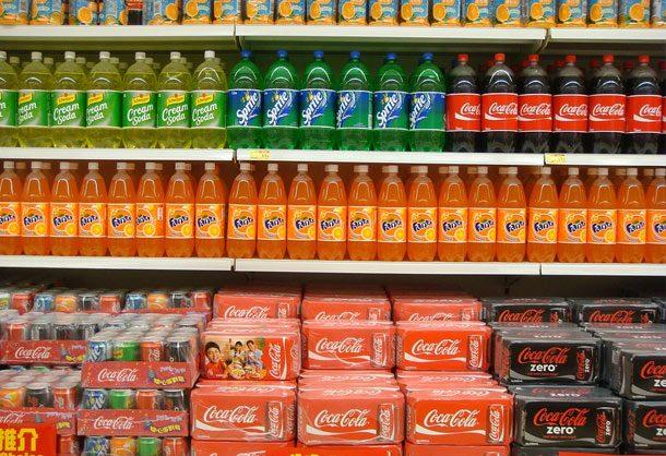 منتجات شركة كوكا كولا