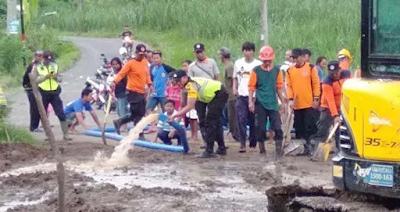 Berita Blitar Jalur Utama Dua Kecamatan di Blitar yang Tertimbun Longsor Sudah Dibuka Kembali