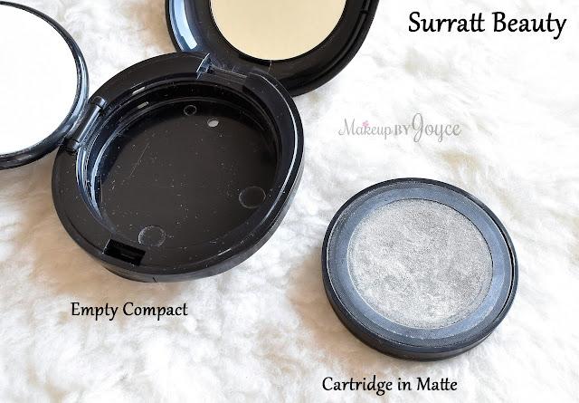 Surratt Beauty Diaphane Loose Powder Empty Compact Review