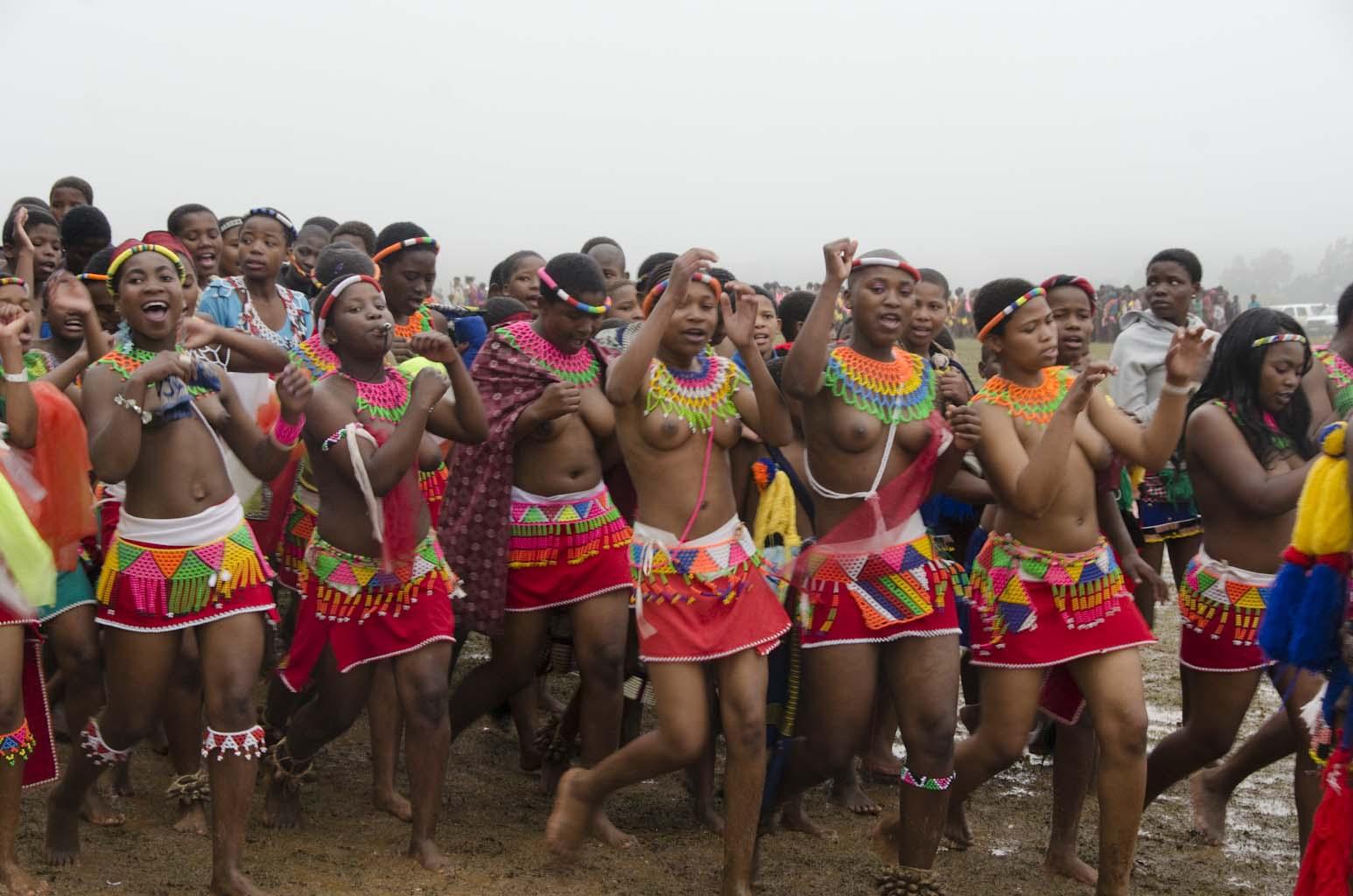 swaziland girls dancing naked