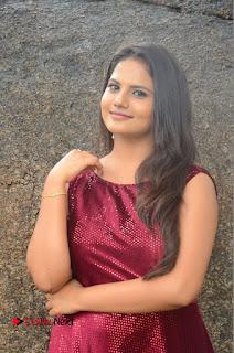 Actress Priyanka Shrma Pictures in Long Dress at Lovers Park Movie Opening  0003.JPG