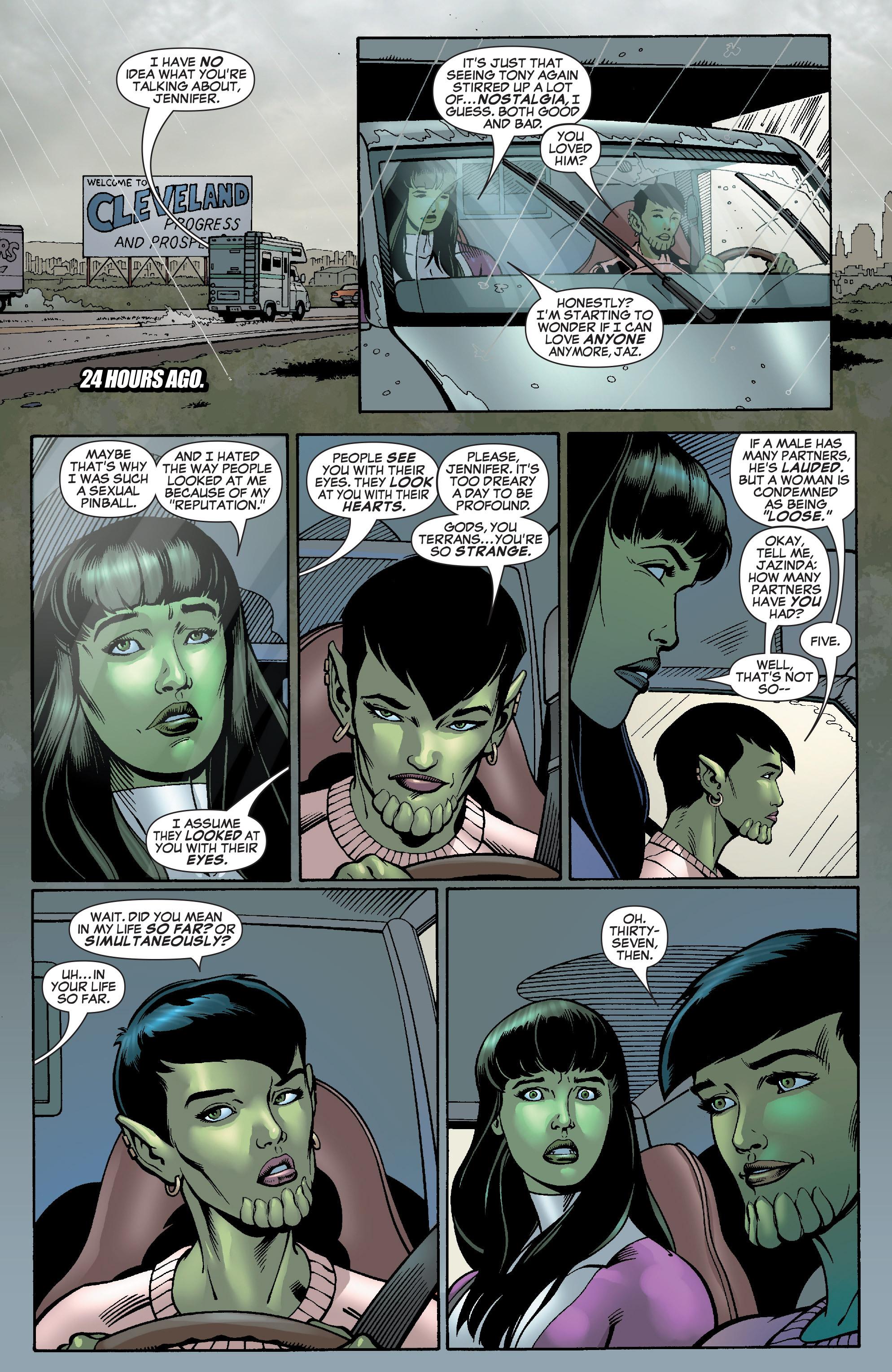 Read online She-Hulk (2005) comic -  Issue #28 - 6