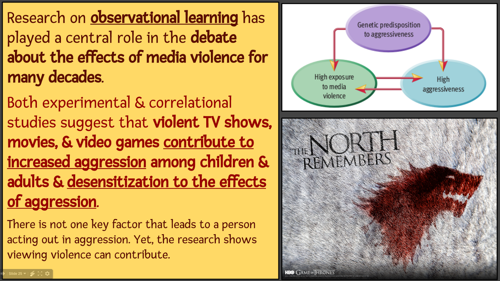 observational learning of violent behavior essay Aggression nature or nurture psychology essay a large amount of literature deals with aggressive and violent behavior this kind of observational learning.
