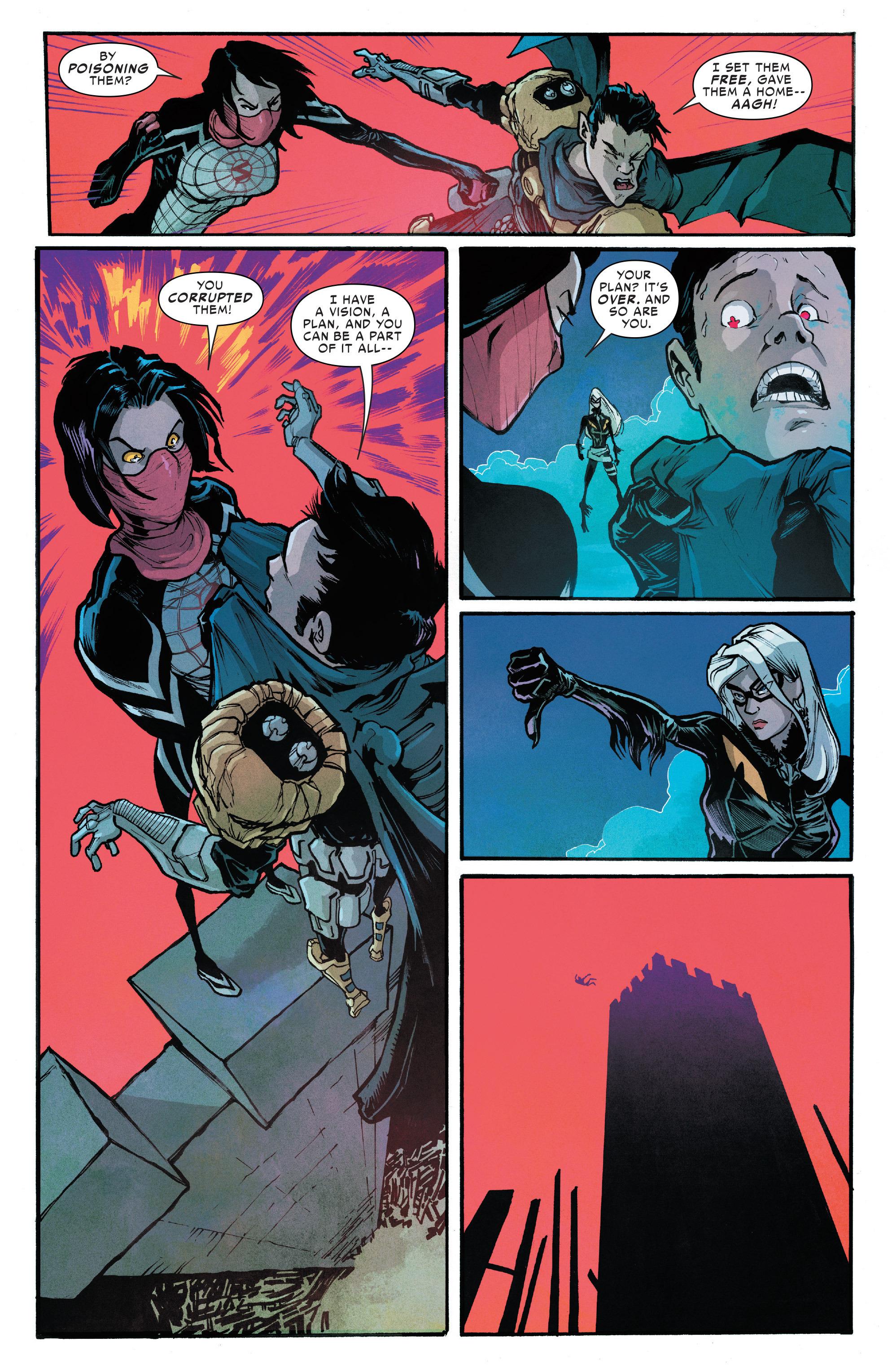 Read online Silk (2016) comic -  Issue #6 - 14