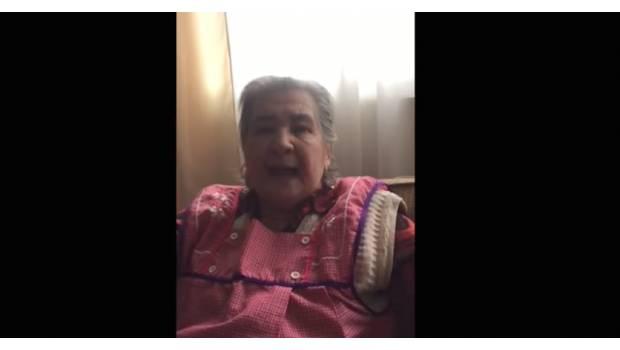 """""""Son chingaderas"""", reclama anciana ante falso rescate de Frida Sofía"""