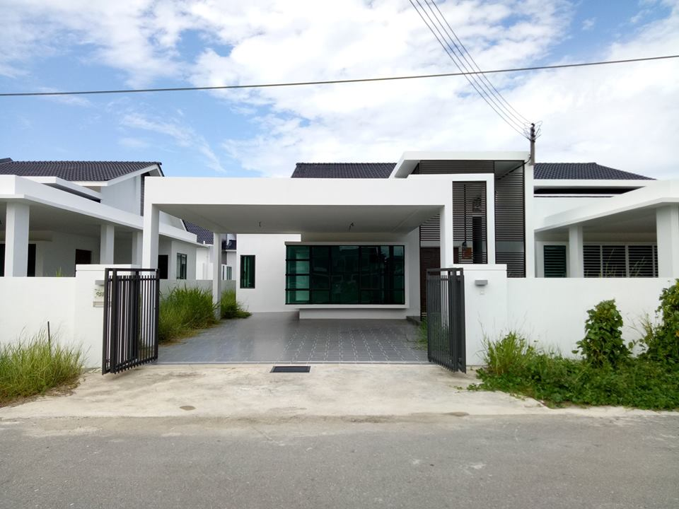 Modern Single Floor Design House Singapore