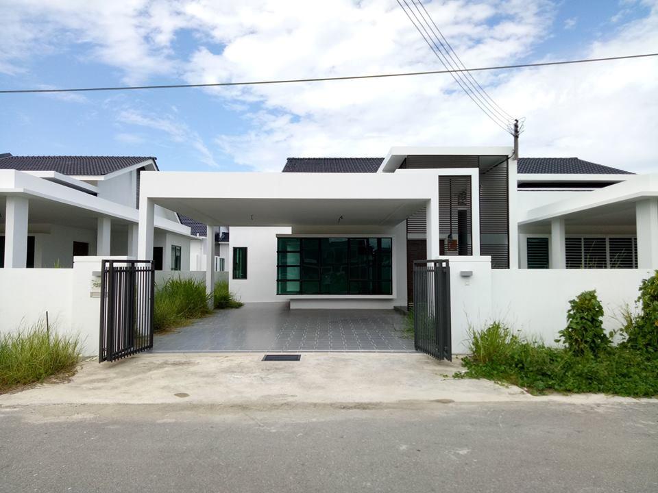 Curtin water miri single storey semi detached house