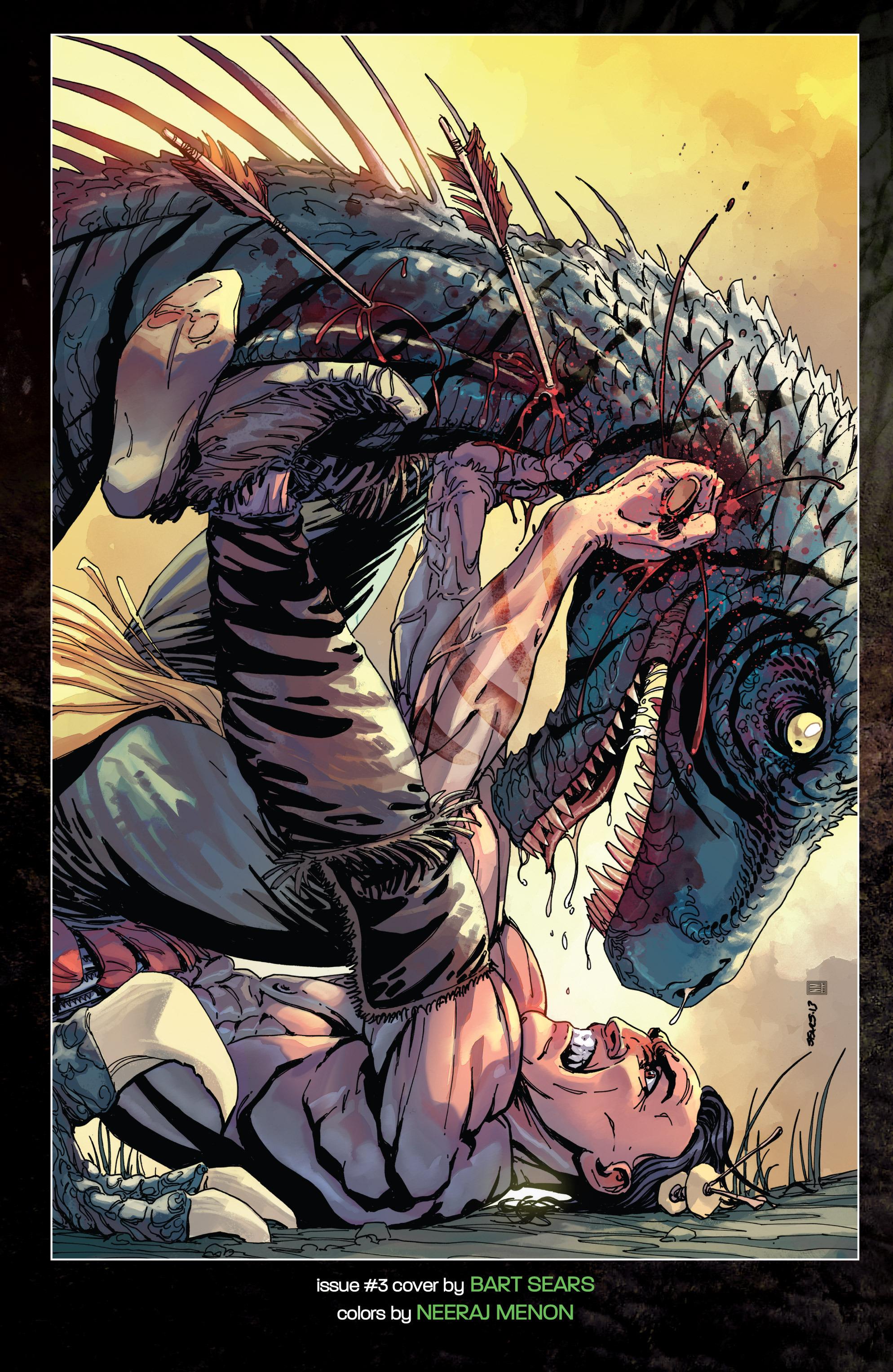 Read online Turok: Dinosaur Hunter (2014) comic -  Issue # _TPB 1 - 139