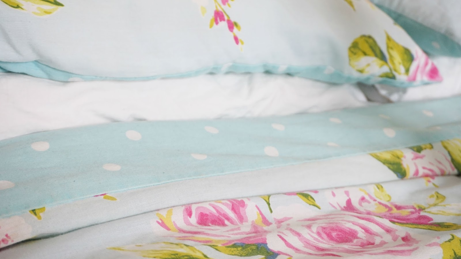 a splash of blue for summer spring decor interior yorkshire linen ad blue white grey floral update your bedroom for summer sunshine