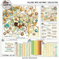 Kit : Falling Into Autumn by Akizo Designs