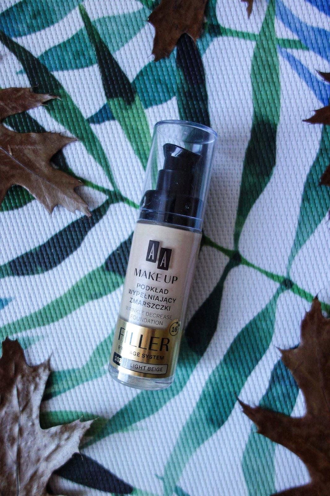 Podkład AA Make Up Filler | Podkład idealny dla cery suchej i dojrzałej