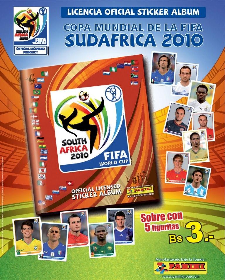 Álbum Copa del Mundo Sudáfrica 2010 – Panini