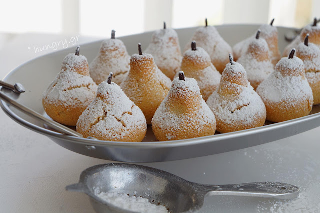 Almond Pears-Amigthalota