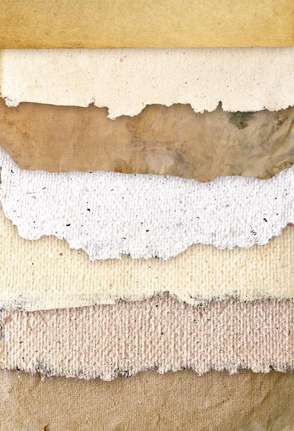Texturas de papel en alta resolución