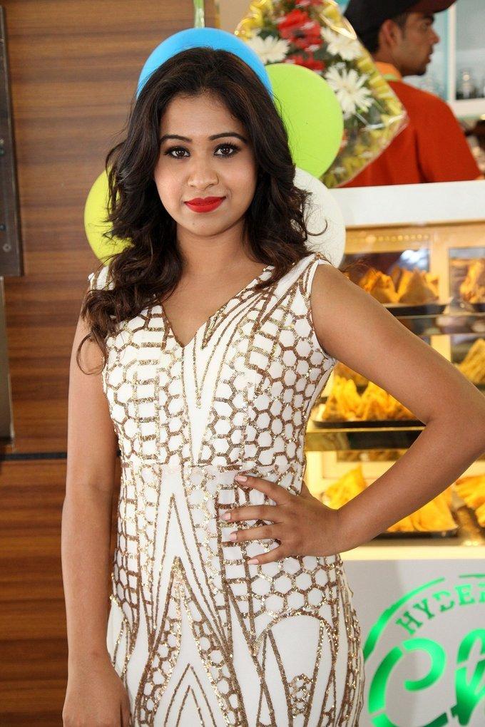 Manali Rathod at Hyderabadi Chai Adda Launch Stills