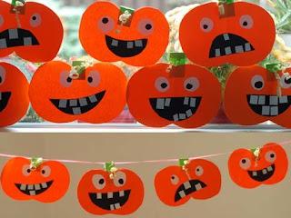 manualidad para niños halloween