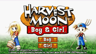 Harvest Moon Boy And Girl Highly Compress 87MB PPSSPP