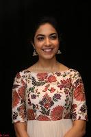 Ritu Varma smiling face Cream Anarkali dress at launch of OPPO New Selfie Camera F3 ~  Exclusive 010.JPG