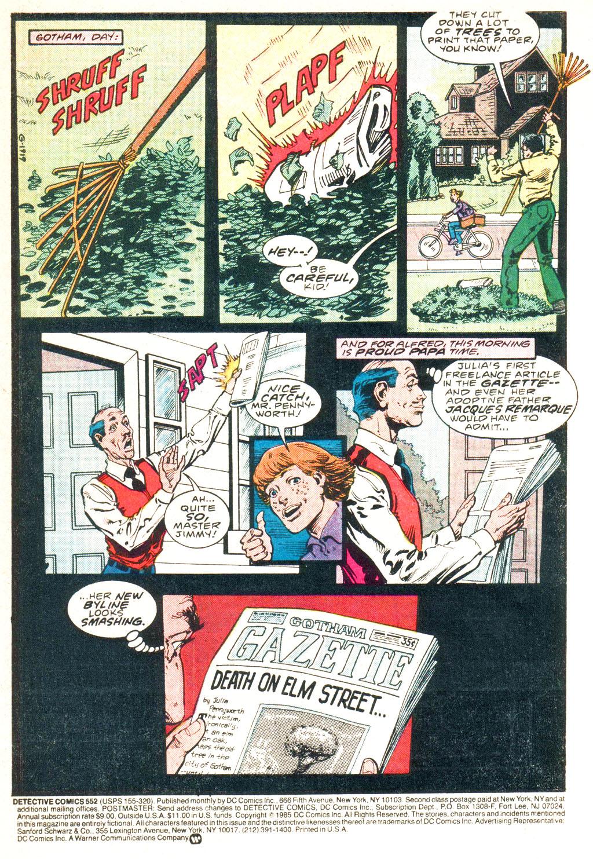 Detective Comics (1937) 552 Page 2
