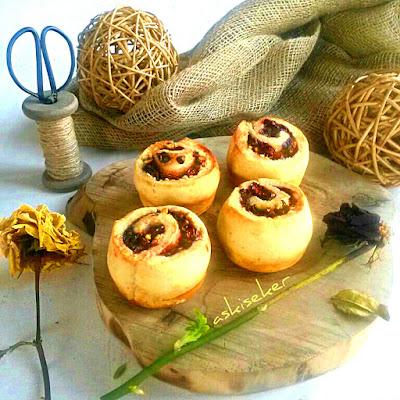 visneli gul muffin