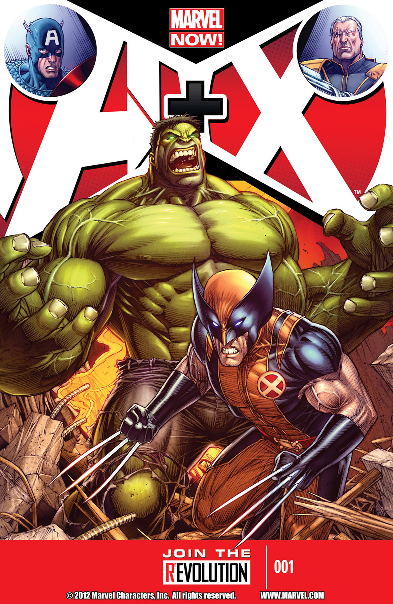 Read online A X comic -  Issue #1 - 1