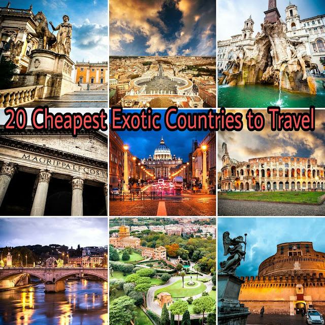 cheap countries, cheap travel, budget travel, travelling cheap, travel on budget, cheap destinatins, exotic places, exotic countries