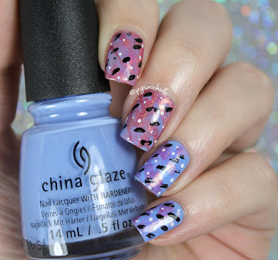 China Glaze + Grace-Full Nail Polish | Abstract Brushstrokes