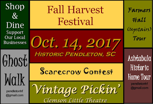 October 14, 2017 - A Big Day in Pendleton, SC