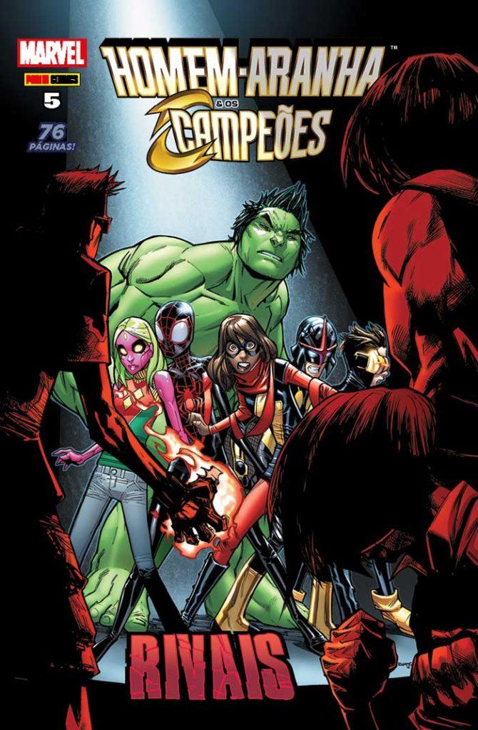 Checklist Marvel/Panini (Julho/2019 - pág.08) - Página 7 CAPA_Homem_Aranha_e_os_Campeoes_5-670x1024