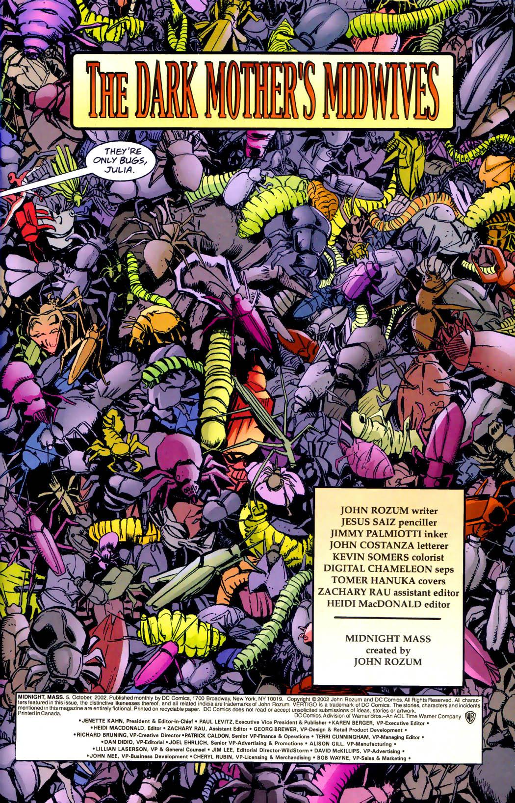 Read online Midnight, Mass comic -  Issue #5 - 2