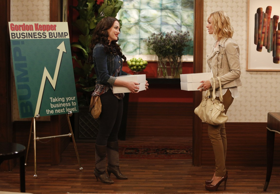 2 Broke Girls - Season 4 Episode 05: And the Brand Job