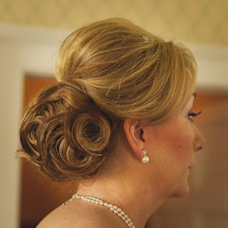 Intricate soft wedding hair