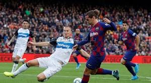 برشلونة يحقق فوز كاسخ على ديبورتيفو ألافيس بعد الكلاسيكو في الدوري الاسباني