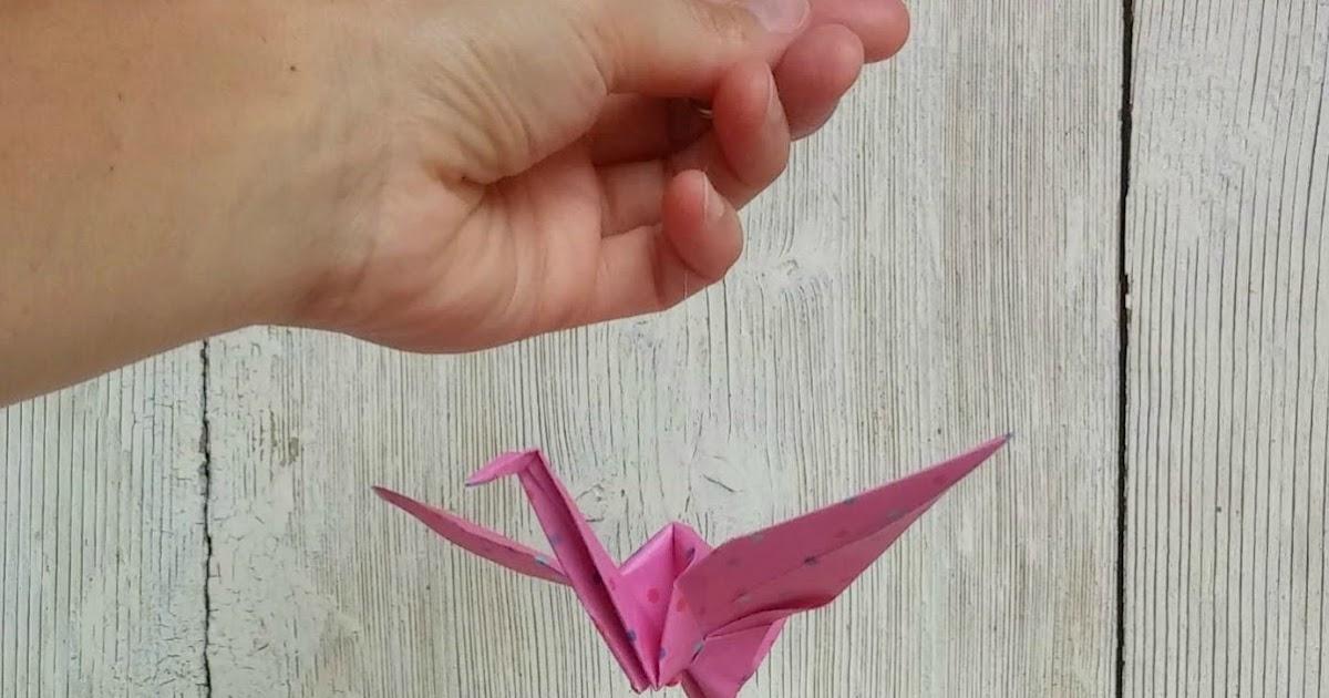 Ella & Nesta's Little Room: DIY Origami Crane Mobile Party ...