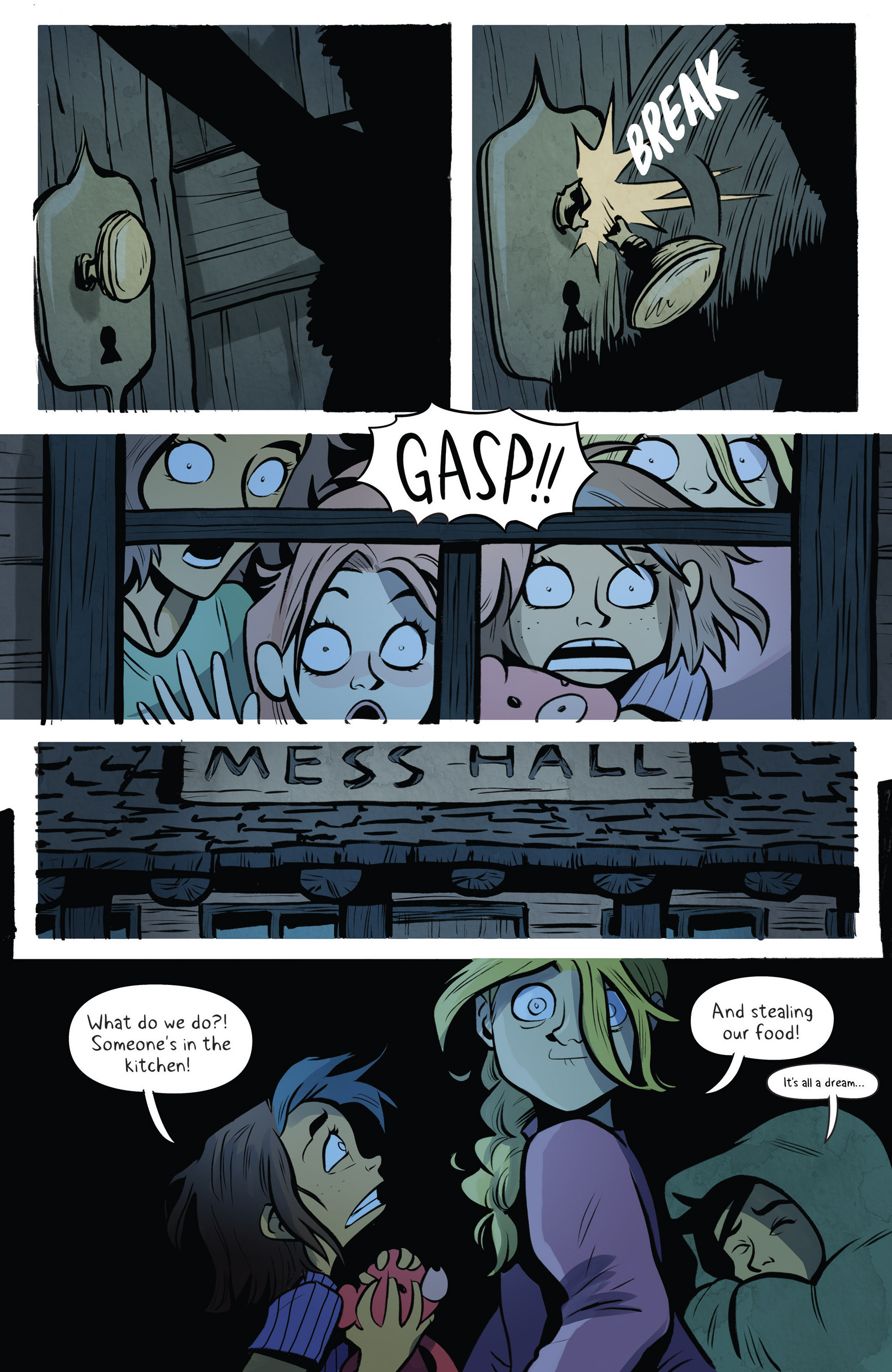 Read online Lumberjanes: Makin' the Ghost of It 2016 Special comic -  Issue # Full - 16