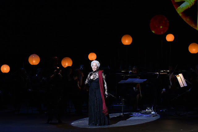 Teresa Berganza, winner of the Lifetime Achievement Award at the 2018 International Opera Awards (photo Chris Christodoulou)