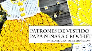 Vestido Crochet On Line para Niñas Paso a Paso