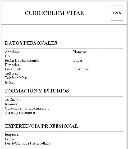 Cómo hacer un Curriculum Vitae | Ecuador Noticias | Noticias de ...