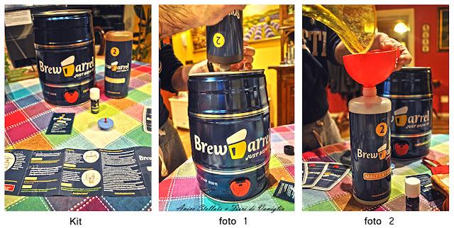 Preaparazione Kit Brew Barrel collaborazione