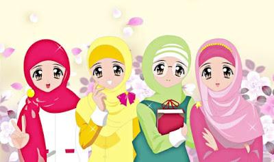 kartun sahabat muslimah