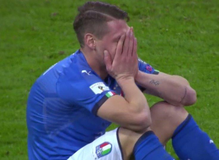 Formazioni ufficiali. Azzurri col 3-5-2, ci sono Jorginho e Gabbiadini