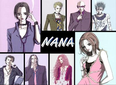 nana anime poster