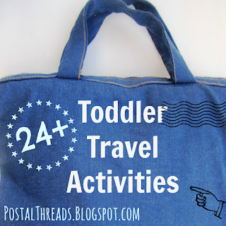 24+ Toddler Travel Activities by PostalThreads