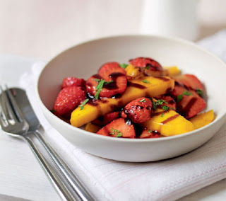 balsamic strawberries and mango recipe