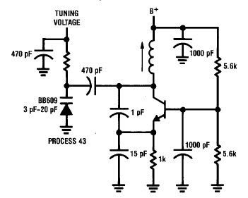 Make an Oscillator 50-300 MHz Colpitts Type Circuits