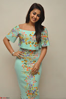Nikki Galrani in Cute Dress Dress At Marakathamani Success Meet ~  Exclusive 026.JPG