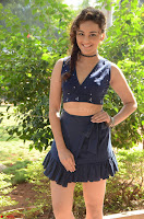 Seerat Kapoor Stunning Cute Beauty in Mini Skirt  Polka Dop Choli Top ~  Exclusive Galleries 003.jpg