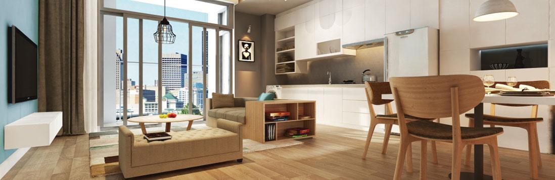 Thiết kế nội thất dự án chung cư căn hộ Panorama Hoàng Mai