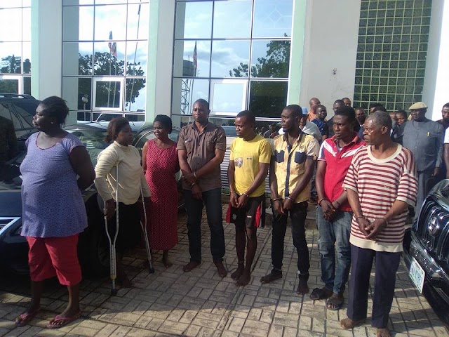 Police Arrest Kidnappers With Six Children in Benue[SEE PHOTOS]