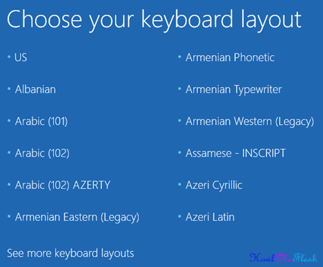 See More Keyboard Layouts